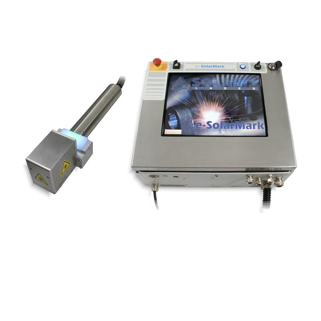 eSolarMark+ Fiber Laser coder