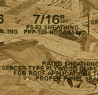 Regulatory mark on engineered wood with MMS V-Series marking system