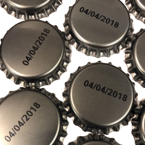 VIAjet™ L-Series Thermal Inkjet Print on Bottle Caps