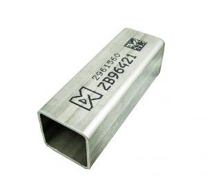 Marking on metal example image